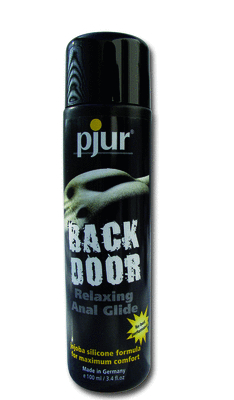 Pjur Back Door Relaxing Anal Glide100ml w/ Jojoba Silicone Based